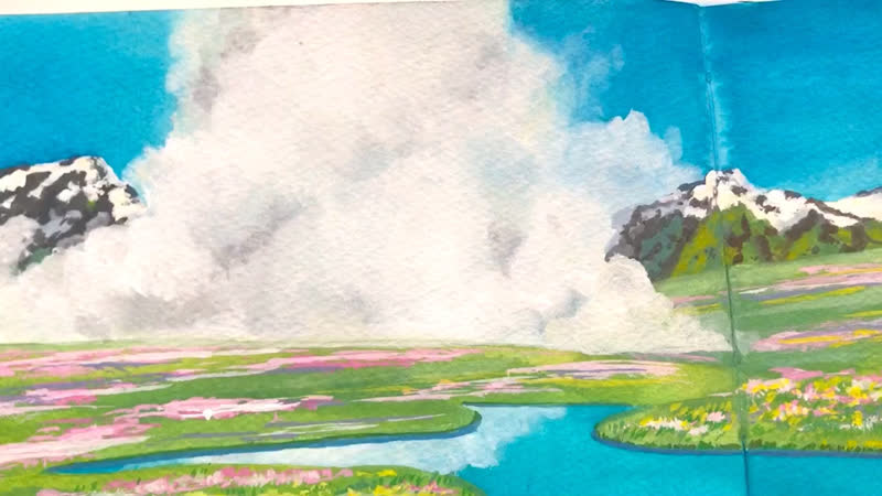 Hawl's Moving Castle sketch Close up