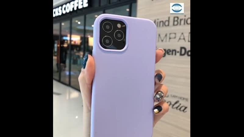 IPhone Accessories Wholesale Supplier China iPhone 12 Liquid Silicone Case