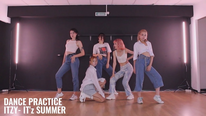 DANCE PRACTICE ITZY 있지 IT'z SUMMER Dance Cover by training for the ballet potter from Russia