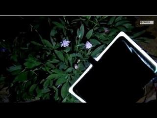 Мощный автономный самодельный LED прожектор на солнечной батареи.