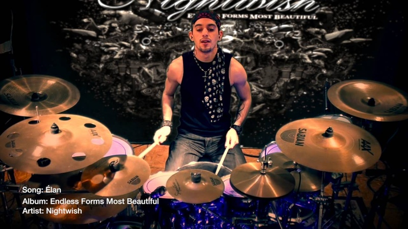 Nightwish - Élan - Drum Cover by EJ Luna Official
