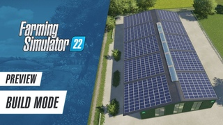 Preview: The new build mode in Farming Simulator 22