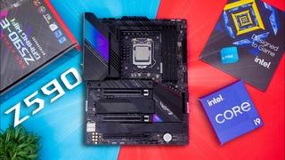 Is It Good Enough For A i9 11900K?? - ASUS ROG STRIX Z590-E GAMING WIFI
