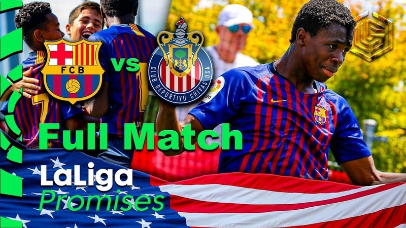 FC Barcelona vs FC Chivas Sub 12 LaLiga Promises New York 2019