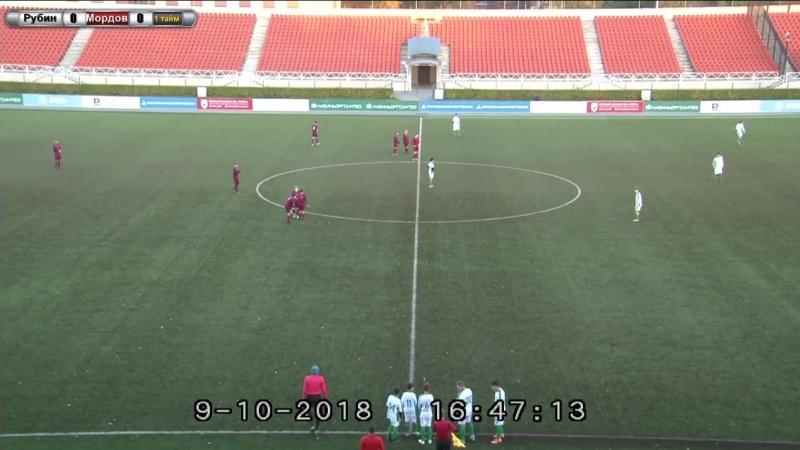 Финальный турнир Первенство России зона Приволжье среди юношей 2004 г.р. Рубин-Мордовия