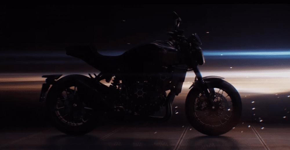 Тизер Honda CB1000R 2021