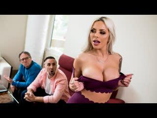 Nina elle - washing my friends wife (big tits, big ass, blowjob, blonde, milf)