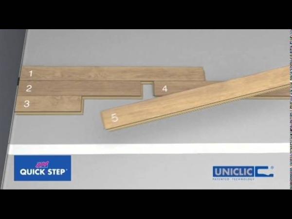 Como instalar un parquet flotante QUICK STEP