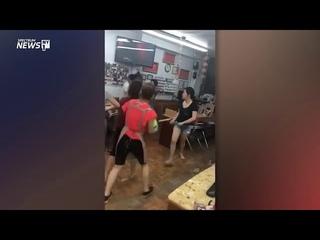 Nail Salon Workers Attack Customer