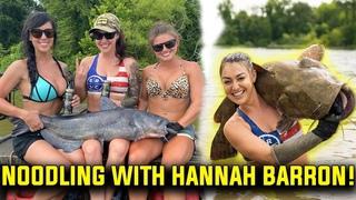 Catfish Noodling! Ft. Heather Lynn, Hannah Barron, & Alex Zedra!