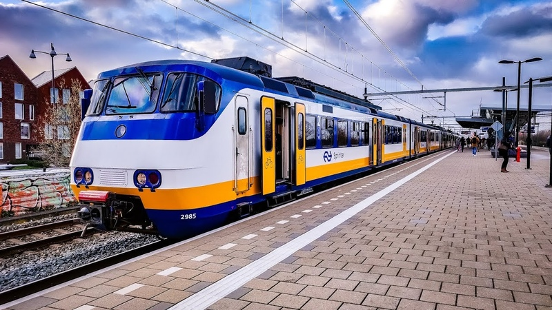 4K Cab Ride NL Amsterdam CS - Haarlem - Alkmaar - Hoorn SPR 4857 23-02-2019