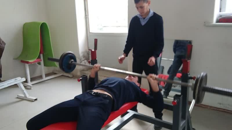 45кг 13 Вес 54 собств Орынчук Илия 14 лет с Красногорка