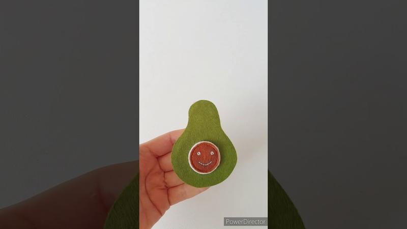 Бесплатный мастер класс развивающей странички Авокадо
