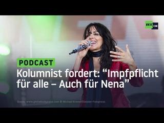 """Kolumnist der Frankfurter Rundschau fordert """"Impfpflicht für alle: Auch für Nena"""""""