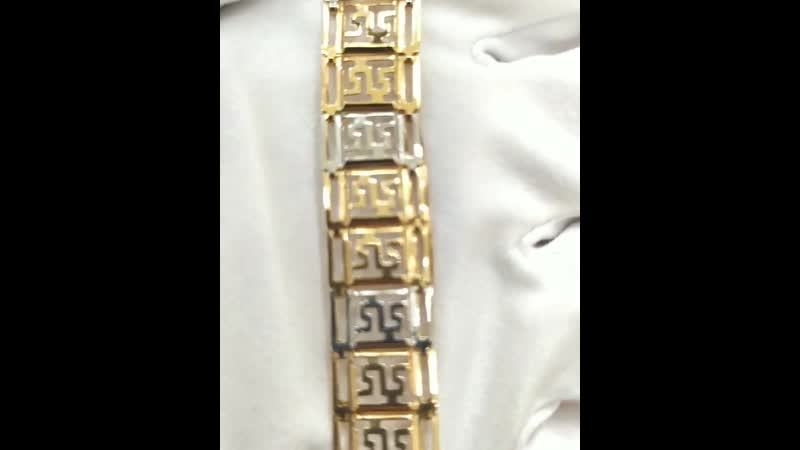 👍На фото ✨Новинка✨💎Браслет Краснное золото 585 °💎Общая масса изделия 6 51гр💎Размер 18 0 💎Цена 30923 руб