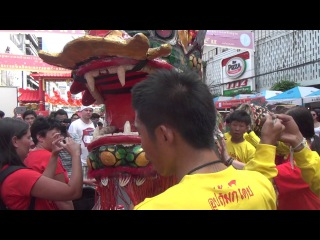 Китаискии новыи год в Чайнатауне Бангкока. Bangkok. Chinatown. Chinese New Year