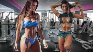 Fitness girl. Athletic, shapely, sexy fitness girls. New 2020. Take It Down.
