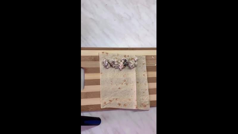 Кесадия с курицей и грибами public185965732