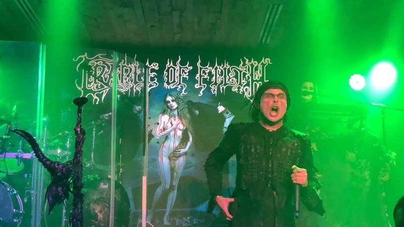 Cradle of Filth - Live at The Boathouse Live in Newport News, Virginia U.S.A. 04072019