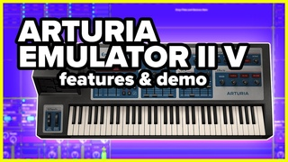 Arturia Emulator II V - Features, Demo, and Review - Emulator II VST Synth | Arturia V Collection