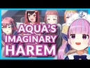 Aqua fixes her social awkwardness drowns in women instantly