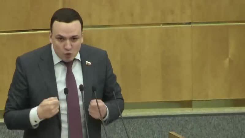 Депутат Ионин Народ скоро за вилы возьмется мы обязаны остановить этот беспред