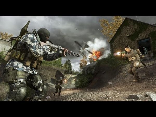 Прохождение игры Call of Duty 4 Modern Warfare Чарли не серфят битва в Ираке с АЛЬ АСАДОМ