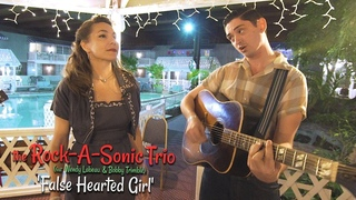 'False Hearted Girl' THE ROCK-A-SONIC TRIO (New England Shakeup) BOPFLIX sessions