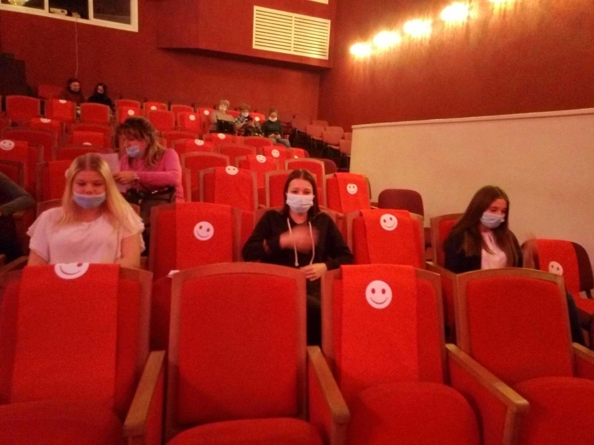 Студенты общежития посетили Молодежный Драматический Театр