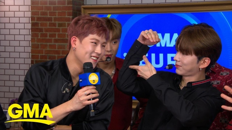 Catching up with Monsta X live on GMA l GMA