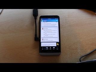 Инновации в BlackBerry 10.2: USB Host Mode и Miracast