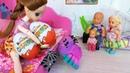 КИНДЕРКИНДЕР-! КАК МАМА КАТЮ И МАКСА ОБХИТРИЛА Веселая семейка мультики с куклами Барби