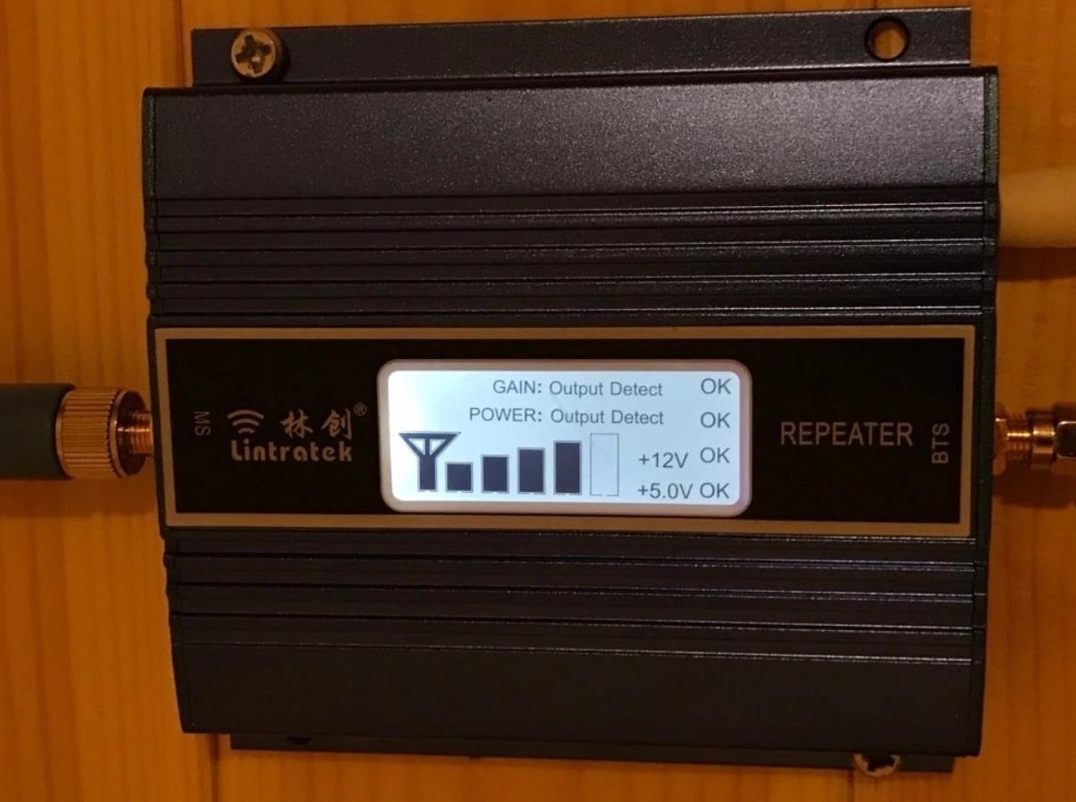 Усилитель мобильной связи для дачи или гаража После установки появился уверенный сигнал 3G появился во всем доме рекомен