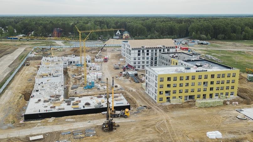 Отчет о ходе строительства квартал «Среда» май 2020, изображение №21