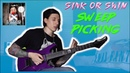 Sweep Picking Arpeggio Guitar Lesson Falling in Reverse Jacky Vincent Sink or Swim