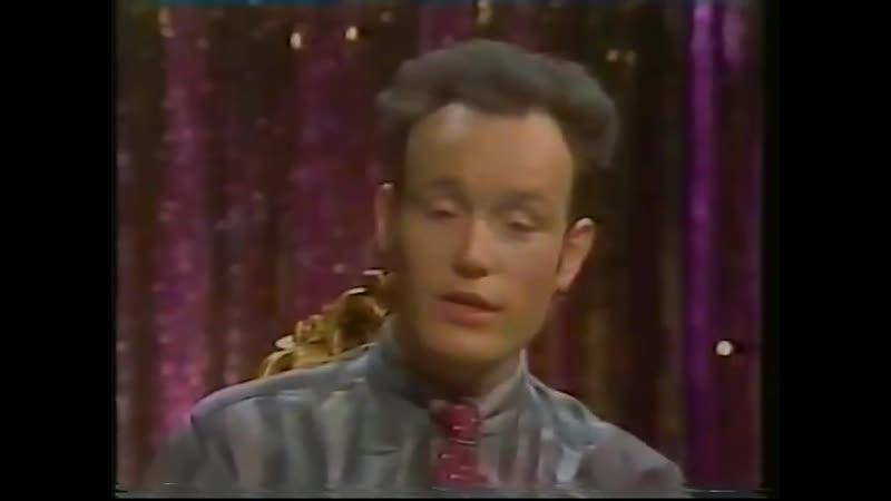 Adam Ant - Interview by Leee John Filmed in the promotion of Slamdance