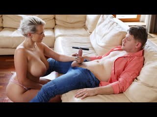 Angel Wicky - Slip Into Something (MILF, Big Tits, Big Ass, Blowjob, Blonde, Glasses, Hardcore)