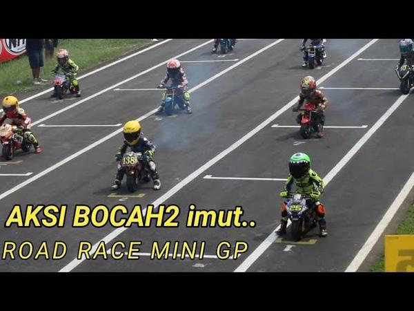 Road race mini GP gass tipis championship sentul