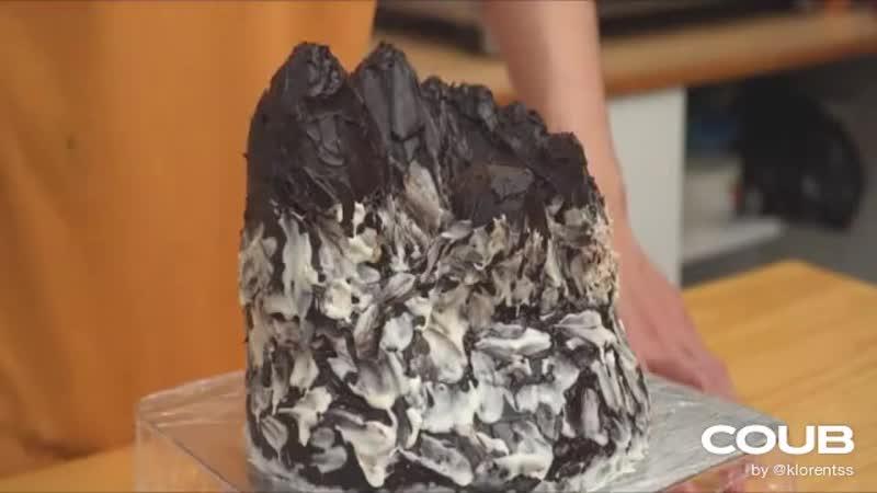 Chocolate Jelly Island Cake Recipe