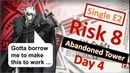 [Arknights][Contingency Contract][Day 4] Guide: Risk Level 8 in Abandoned Tower [Single E2]