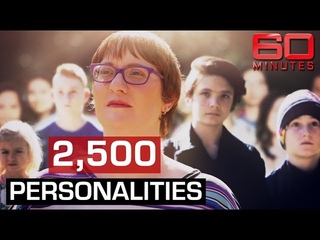Woman with 2,500 personalities says they saved her from shocking child abuse | 60 Minutes Australia