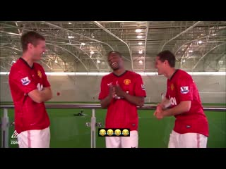 Throwback to this clip of Vidic, Evra and Hernandez discussing what position Usain Bolt would play if he joined ManUtd