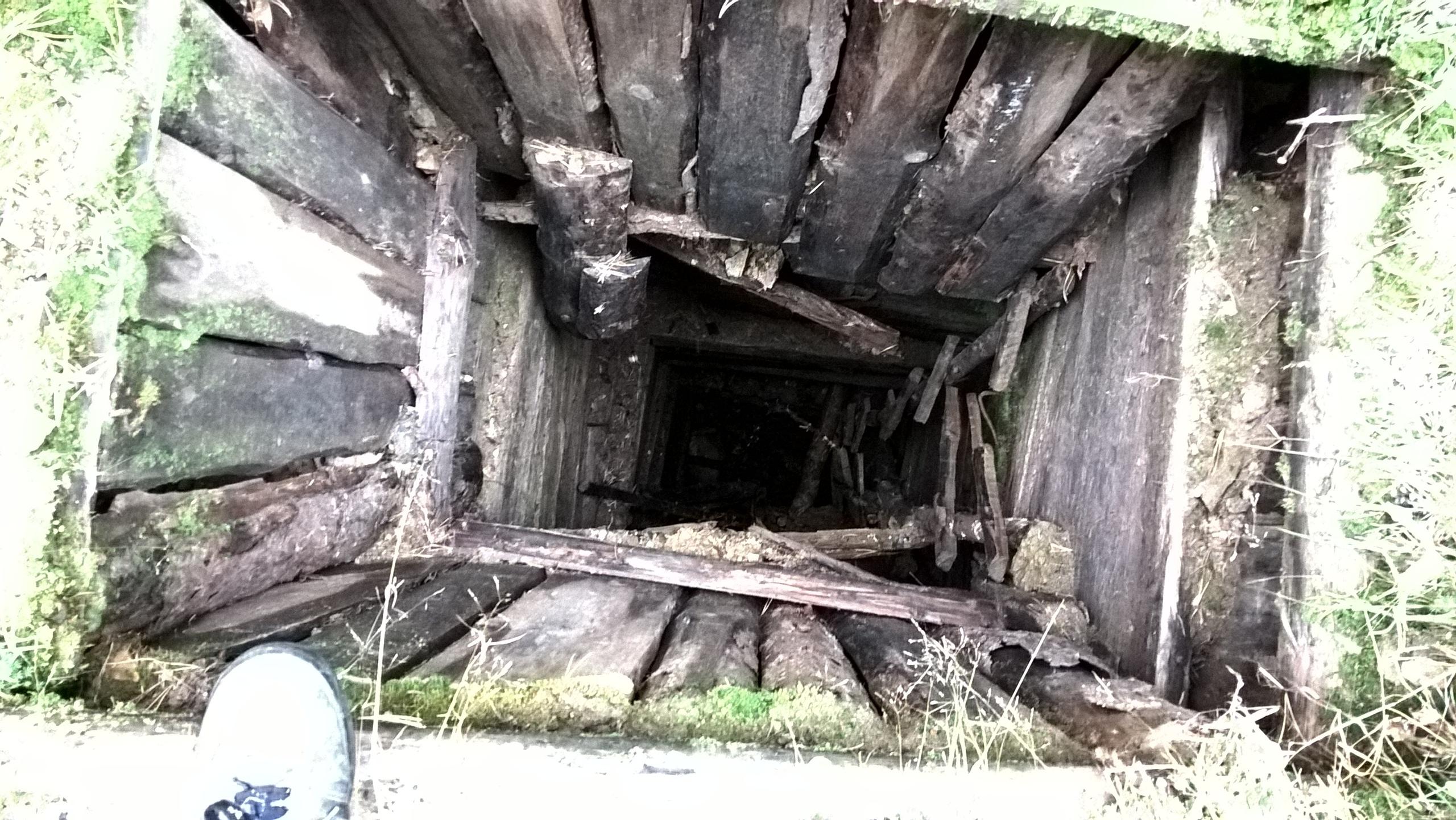 шахта в копи Тальян