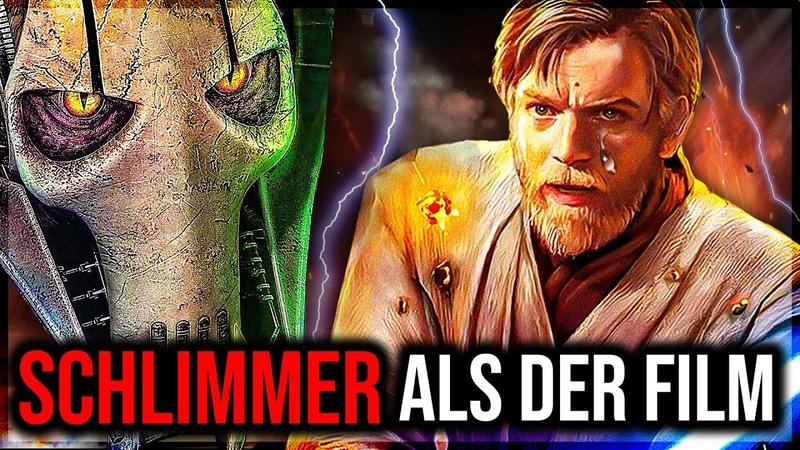Brutaler als im Film! Der eigentliche Kampf zwischen Obi-Wan und Grievous!│212th Star Wars Wissen