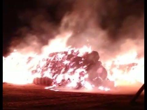 Спасатели больше шести часов тушили крупный пожар на Ставрополье