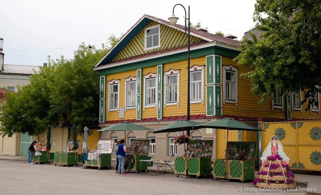 Деревянные дома в Старотатарской слободе, Казань 2020