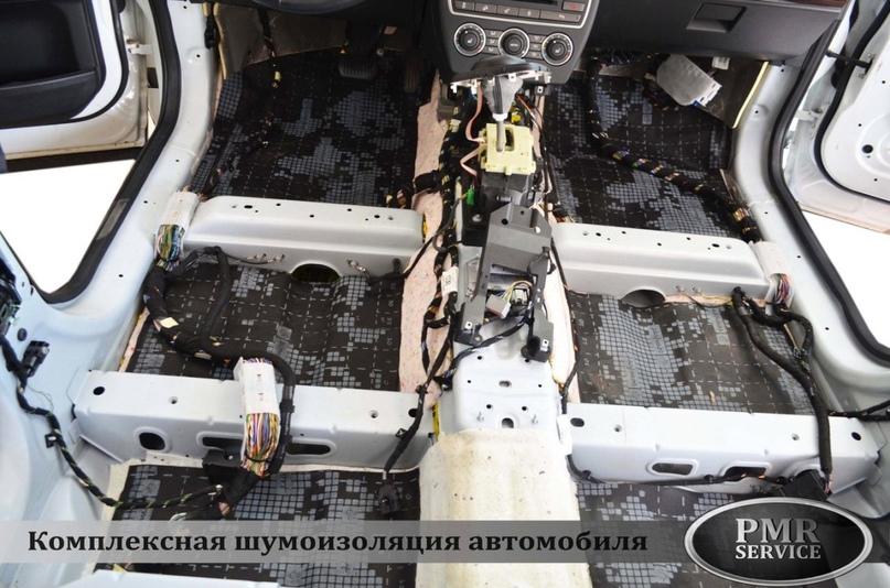 Комплексная шумоизоляция Land Rover Freelander 2, изображение №8