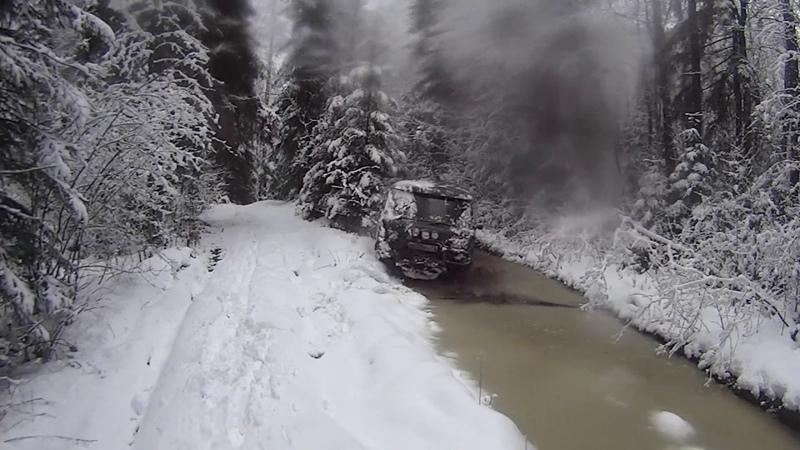 Водить по Русски 2018 буханка уаз на резине Comforser CF3000 MT
