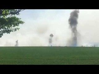 Пожар Балаклея взрывы 3 05 18