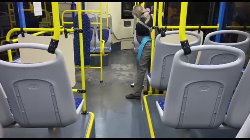 Внутренняя мойка автобусов в Новокузнецке
